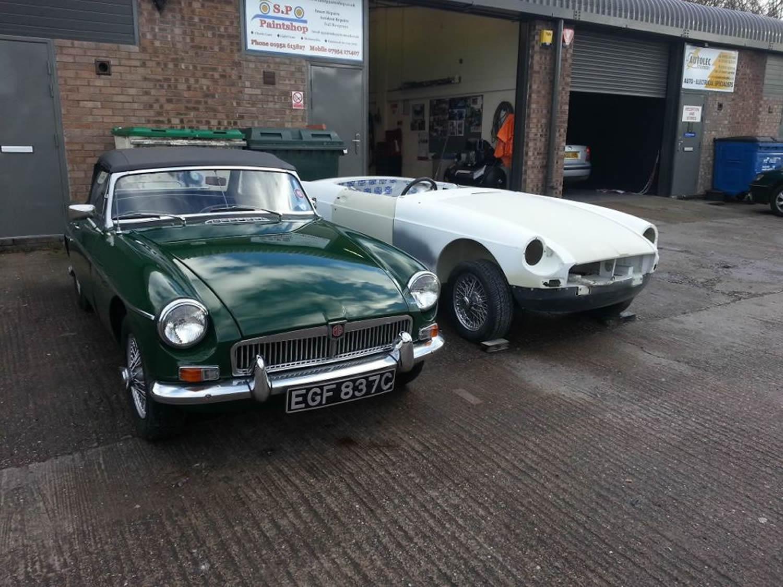 Car Paint Shop Telford